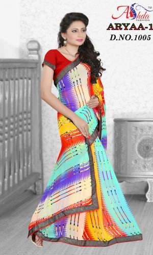Best print with lace border saree,Designer saree online shopping,,saree amazon,latest saree with price,low price saree