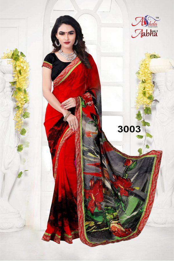 Best print with lace border saree,Designer saree online shopping,,saree amazon,latest saree with price,low price saree