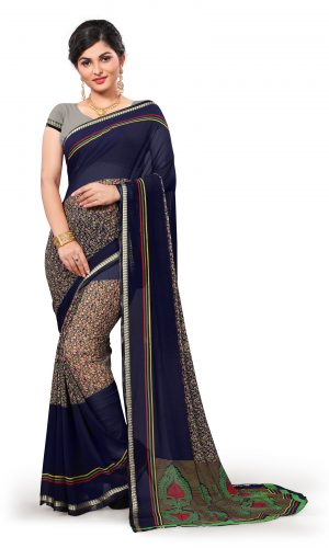 Ashda saree highlights the beauty of women in natural manner