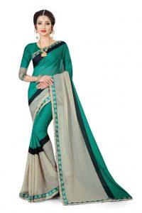 Ashda Fashion Chiffon Grey Classic Printed Indian Ethnic Look Bollywood Style Saree